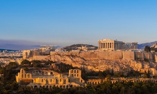 Athens, Greece, where evidence of human habitation dates back as far as 5,000 BC.